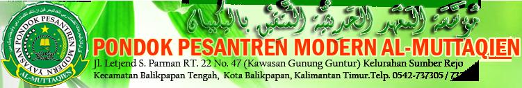 Pesantren Modern Al-Muttaqien – Ma'had Gunung Guntur